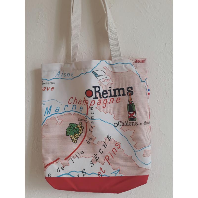 """Sac Reims  """"Illustré"""""""