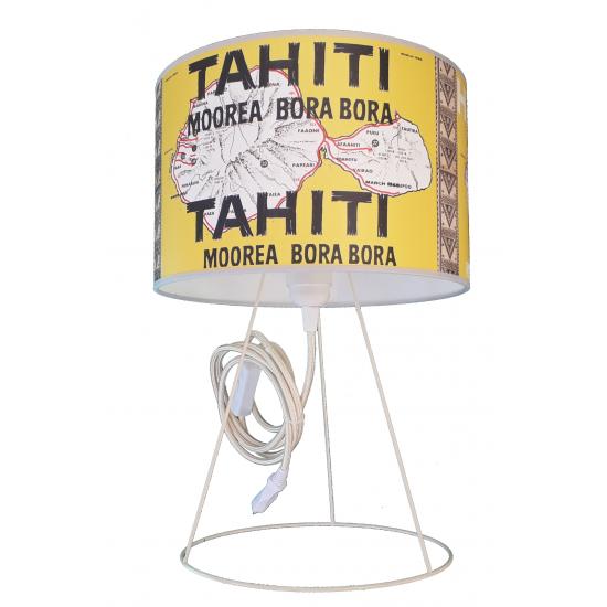 ABAT JOUR  Tahiti, jaune