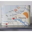 Applique murale MOTIFcarte scolaire Paris