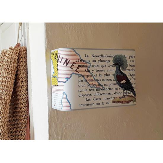"""Applique murale Oiseau """"le Four de Papouasie"""""""
