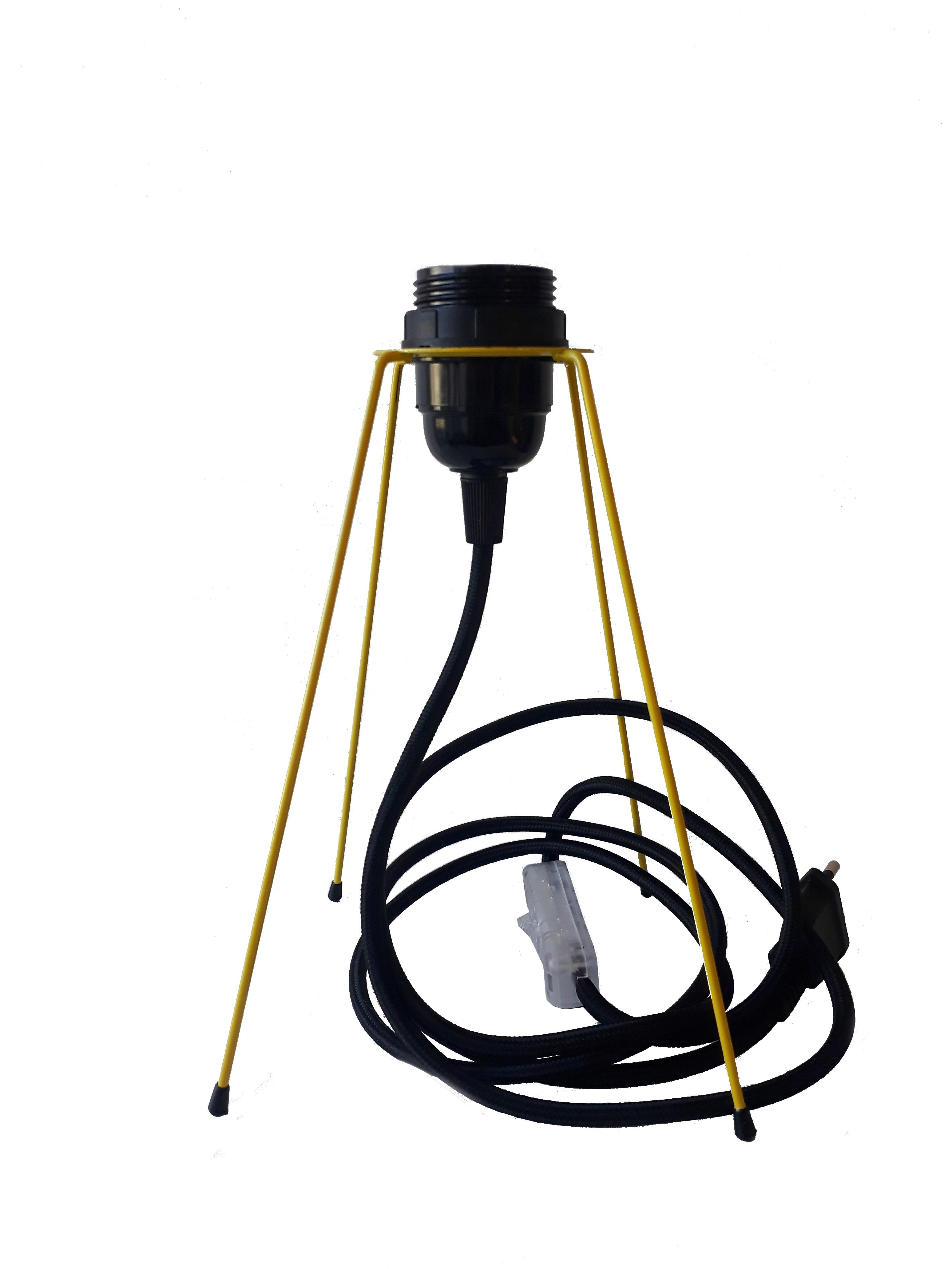 Cordon Electrique Pour Lampe pied de lampe métal équipé de son cordon electrique en tissu