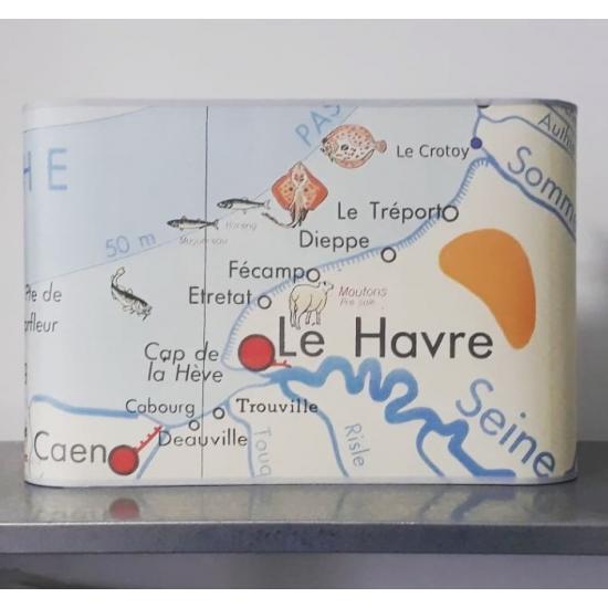 Applique murale  AFFICHE SCOLAIRE LE HAVRE