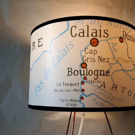 """Abat-jour LA COTE D'OPALE Les régions font de la résistance"""""""