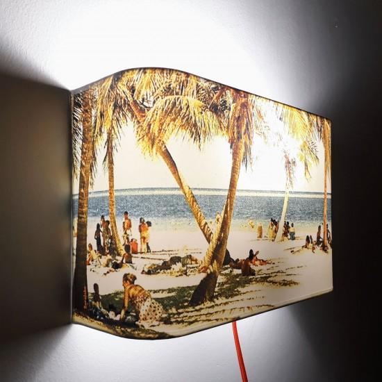 Applique ou lampe  de chevet murale Floride plage