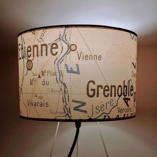 Les Regions DE FRANCE  Abat-jour GRENOBLE