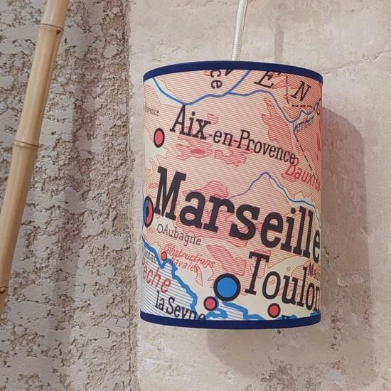 "Veilleuse baladeuse ""REGIONS FRANCAISES"" MARSEILLE"