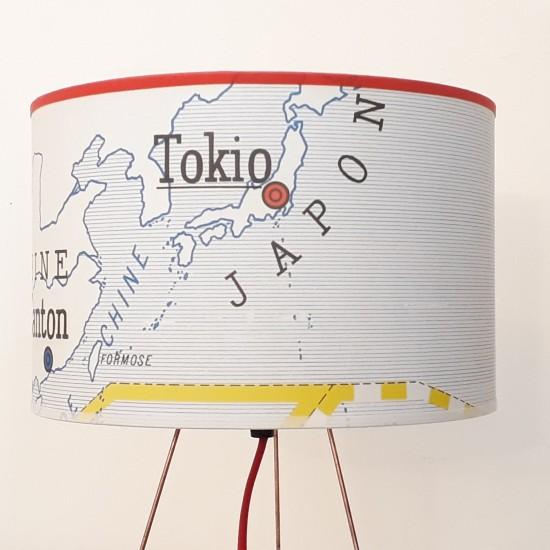 copy of lampe motif affiche...