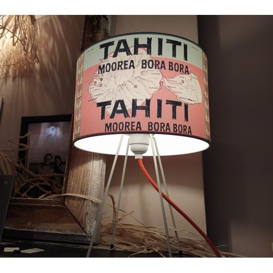 TAHITI VERT MENTHE /  CORAIL