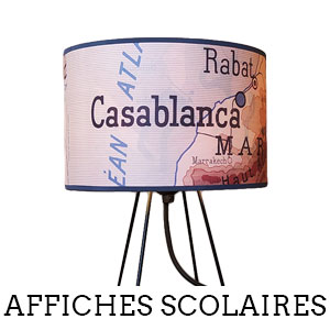 Affiches scolaires